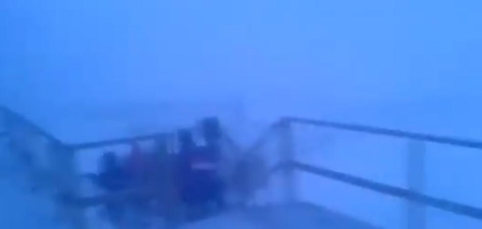 La odisea de unos niños para volver a casa del cole bajo una brutal nevada