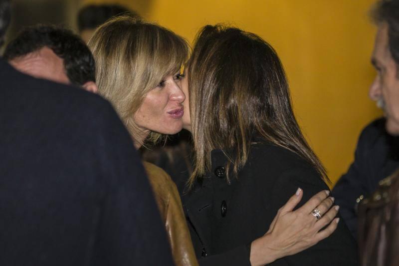 Las fotos del último adiós de Susanna Griso a su madre