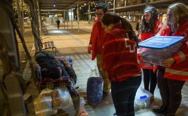 Granada celebra hoy una jornada de voluntariado 'express' para lograr abrigo para los sintecho