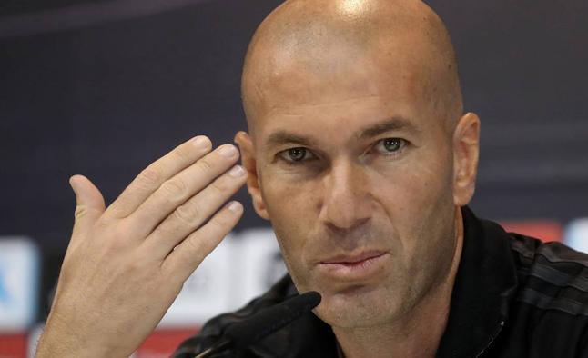 Zidane: «Bale es un jugador muy importante para nosotros»