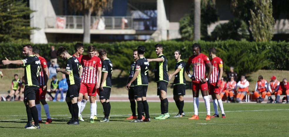 El Almería B recibe al Real Jaén en un pulso entre aspirantes en buena racha