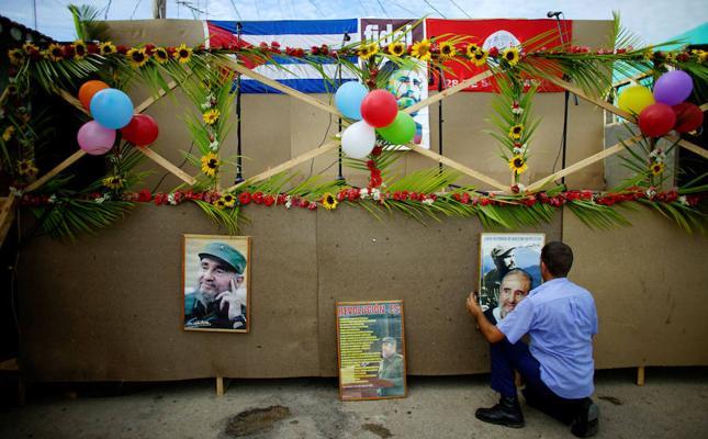 Cuba rinde homenaje a Fidel Castro en el primer aniversario de su muerte