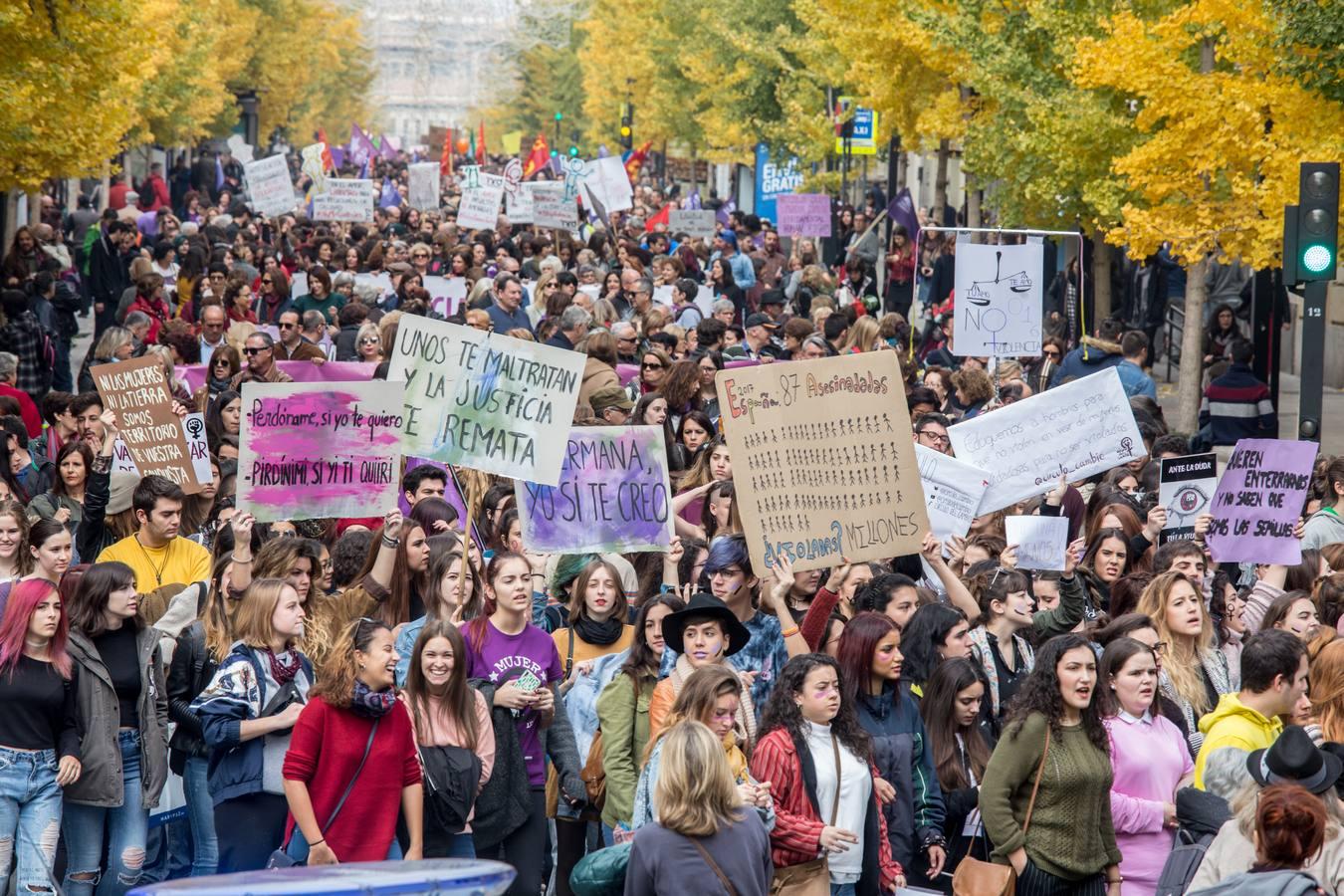 Encuéntrate en la manifestación del Día Internacional contra la Violencia de Género en Granada