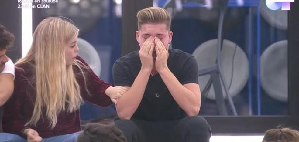 Raoul se echa a llorar tras su actuación en el segundo pase de micros