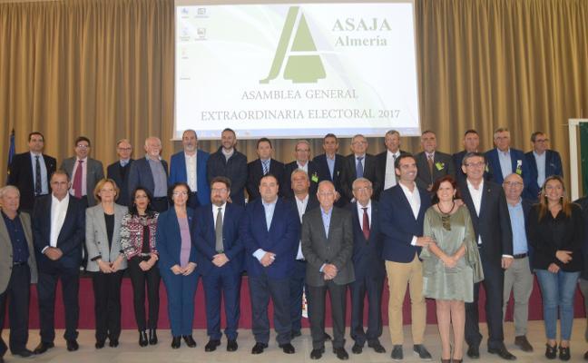 Los socios de Asaja confían cuatro años más su presidencia a Francisco Vargas