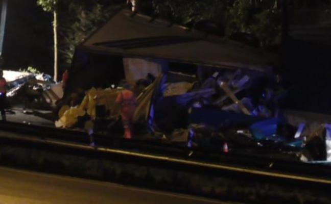 Piden homicidio doloso para un camionero kamikaze que mató a una mujer