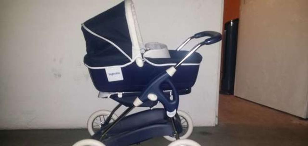Roba 1.760 euros en ropa con un carrito de bebé