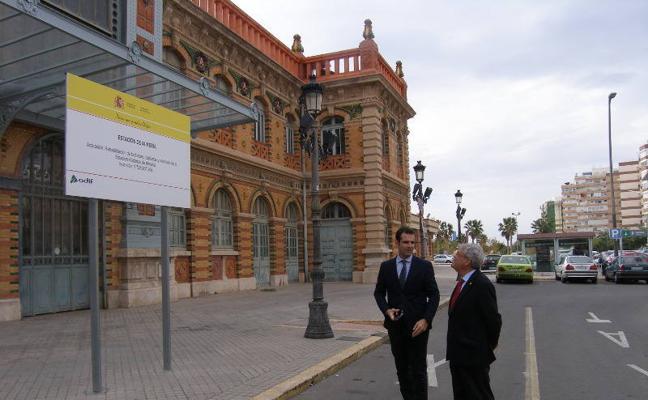 """La Estación del Ferrocarril será un """"contenedor"""" cultural tras las obras"""