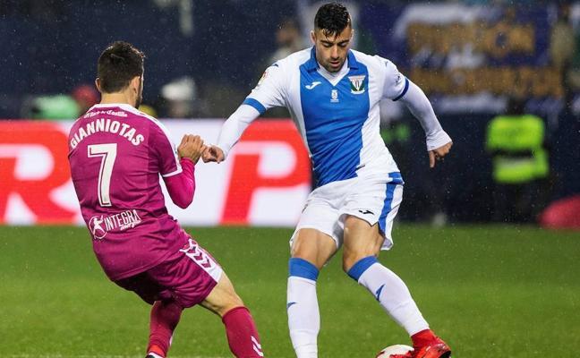 El Leganés certifica el pase a octavos con una victoria balsámica