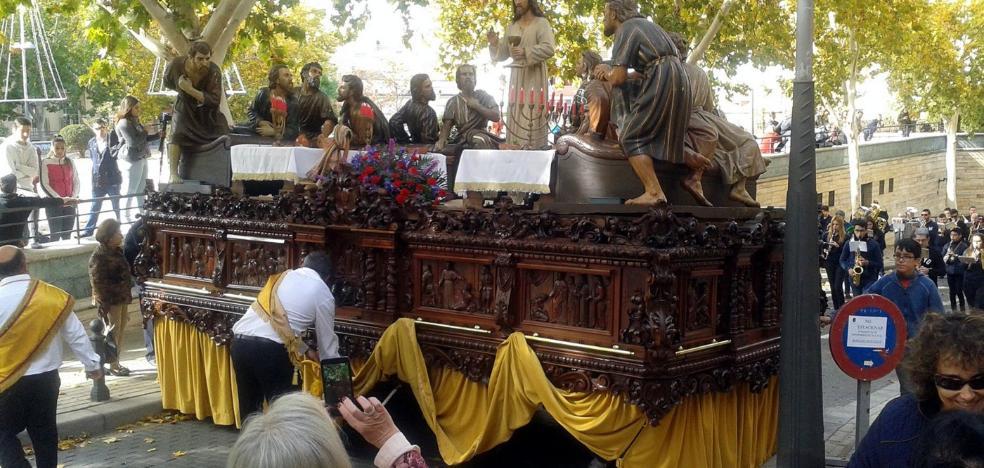 La Santa Cena regresa a la basílica de Santa María