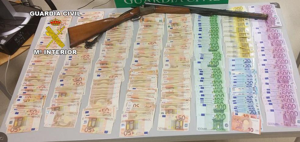 Detenido por robar en el negocio de un familiar más de 67.000 euros