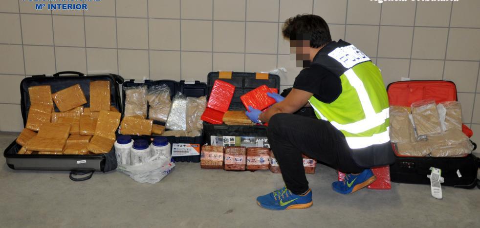 La Policía se incauta del mayor alijo de heroína de la historia de España