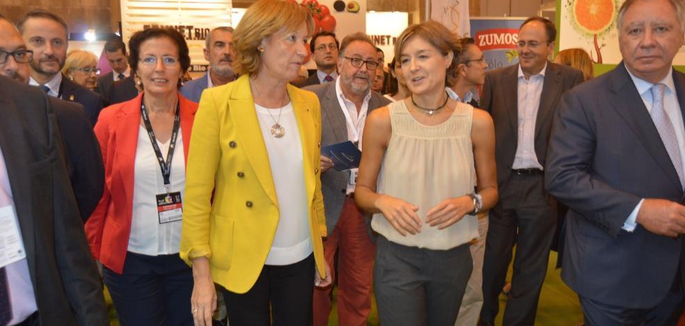 La ministra Tejerina descarta «riego de socorro» para el Almanzora