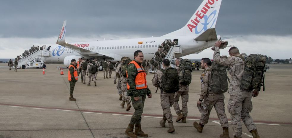 Completado el despliegue de 350 legionarios en Irak