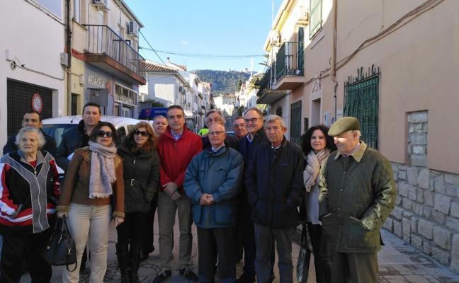Comienzan las obras para sustituir el colector en la calle Sierra Mágina