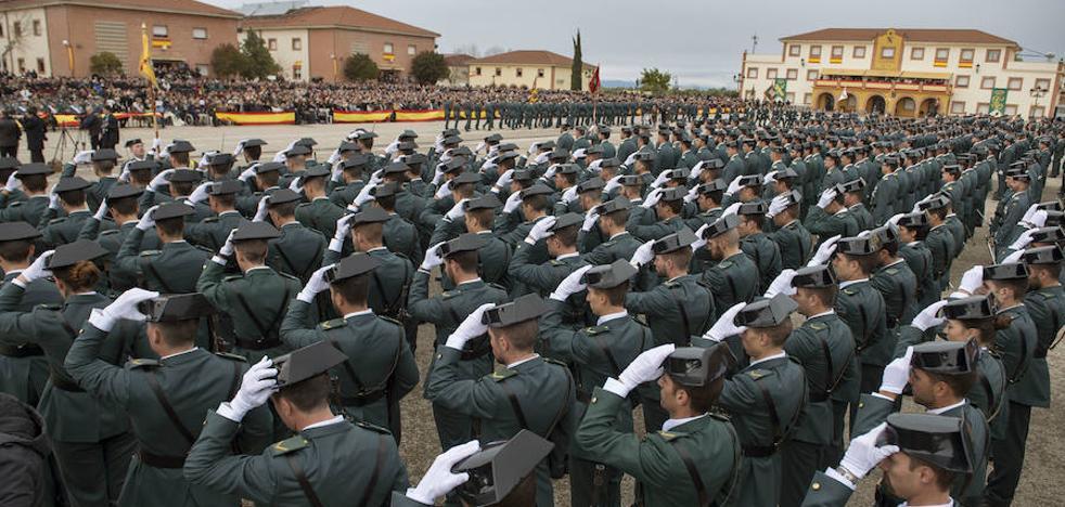 Jura de Bandera en la Academia de Baeza, el día 16
