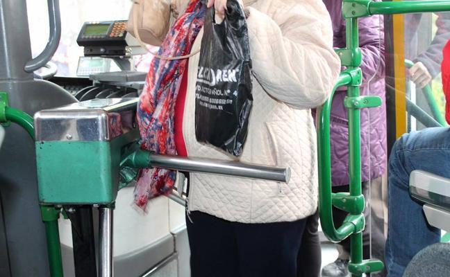 Campaña para celebrar los autobuses sin tornos
