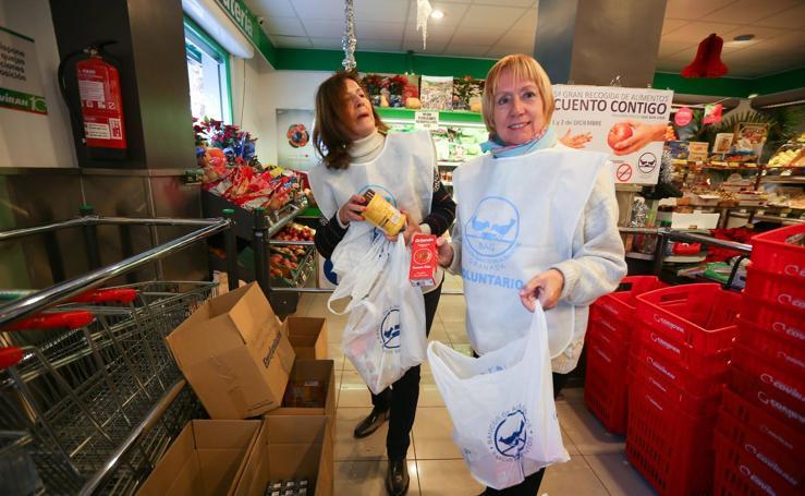 Un 'ejército' del Banco de Alimentos en 500 supermercados
