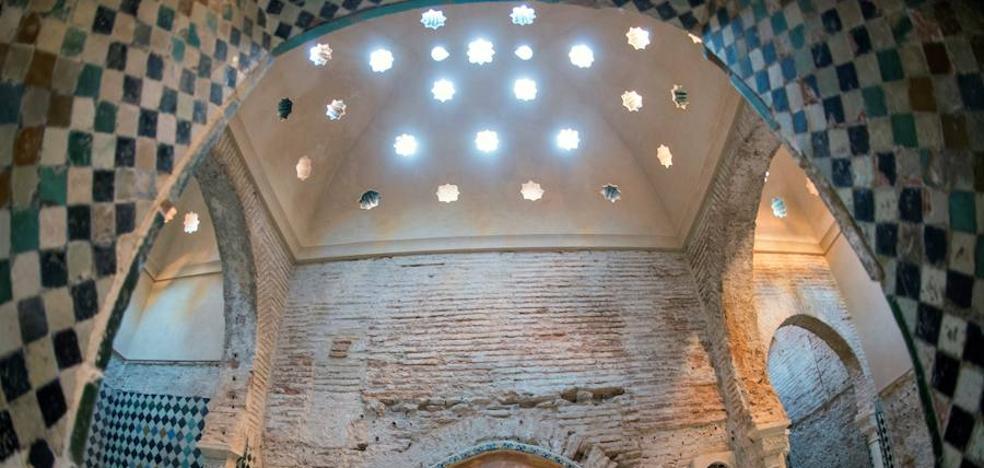 Finaliza la primera fase de restauración de los baños de Comares