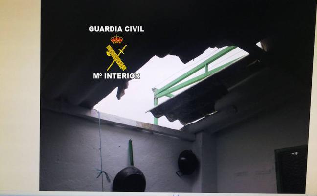 Tres 'escaladores' detenidos por robos en casas de Torredonjimeno