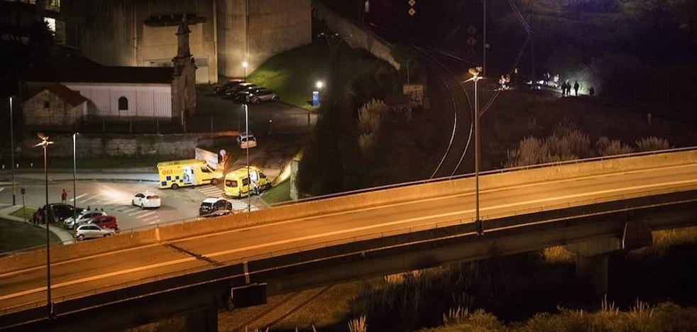 Un tren arrolla a una mujer en Galicia
