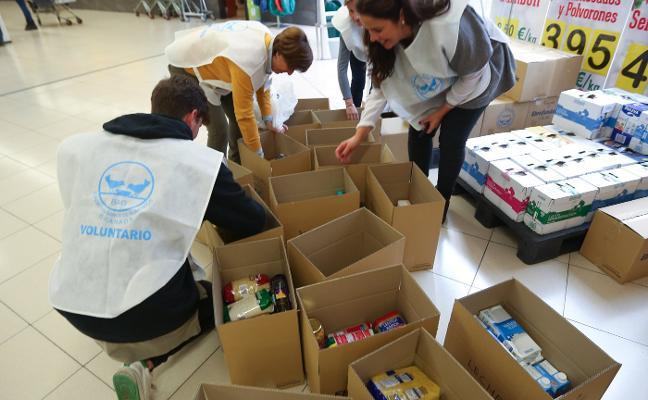 3.000 voluntarios a manos llenas