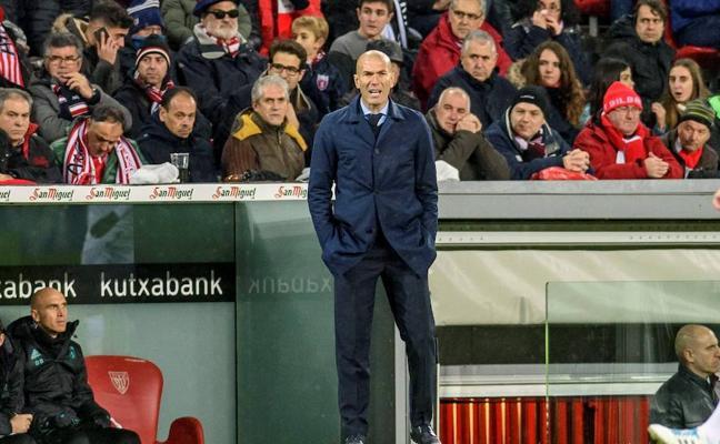 Zidane: «No estoy preocupado, pero sí decepcionado»
