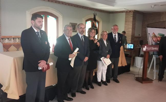 El subdelegado del Gobierno, Andrés García Lorca, en la Orden del Mérito de la Hermandad de Antiguos Legionarios