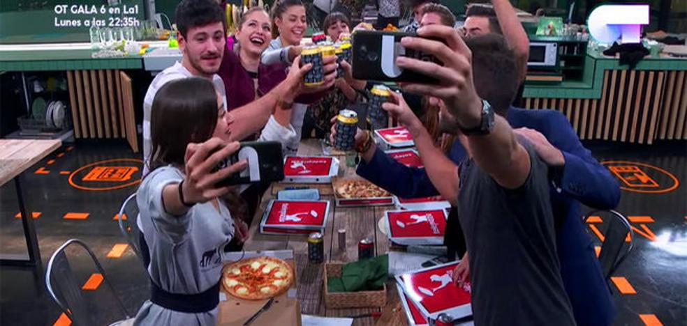 Lluvia de críticas en Twitter por meter a Telepizza en 'OT'