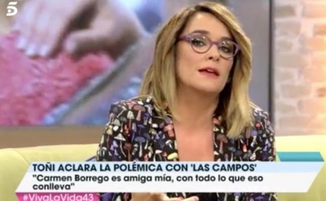 El 'zasca' de Toñi Moreno a María Teresa Campos