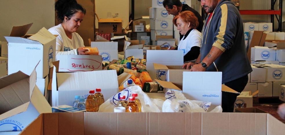 El Banco de Alimentos logrará los 300.000 kilos en la gran recogida