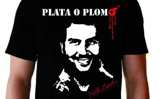 El jefe de sicarios de Escobar se gana la vida ahora con 'merchandising' del capo