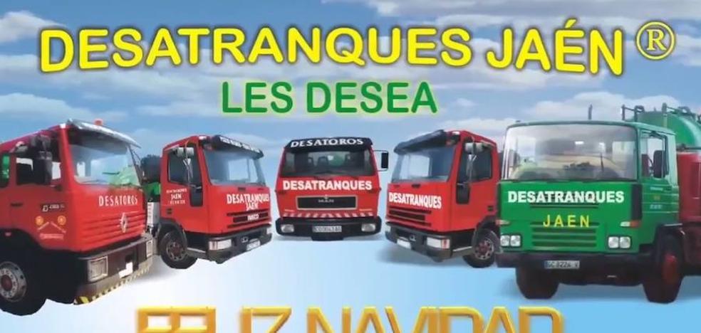 La felicitación de Desatranques Jaén que se ha vuelto viral