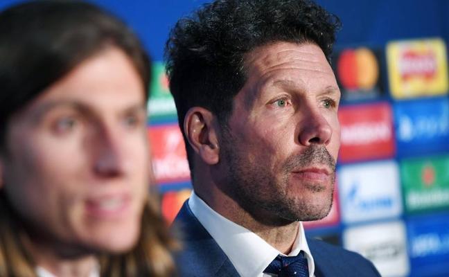 Simeone: «Nosotros solo pensamos en cómo ganar ese encuentro»