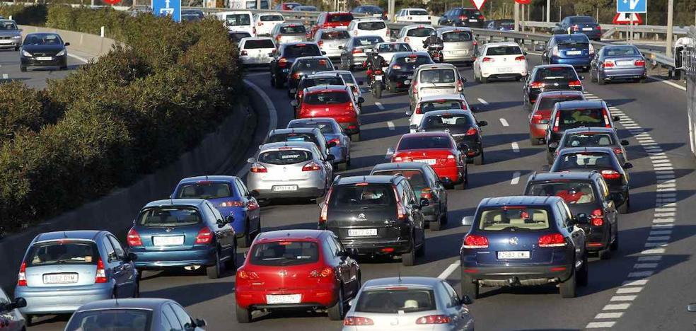 Tráfico prevé 6,7 millones de desplazamientos en el Puente de la Constitución