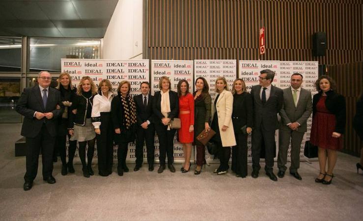 Los invitados a los premios IDEALES