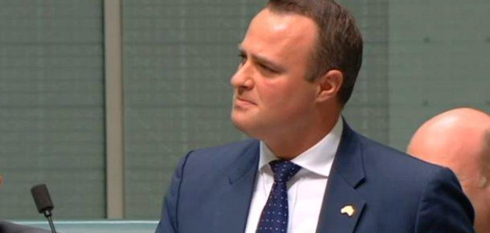 Un diputado homosexual pide la mano a su pareja durante el debate sobre el matrimonio gay