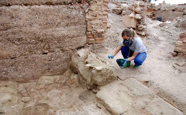 La Junta ejecuta trabajos de conservación arqueológica en Alcazaba de Almería
