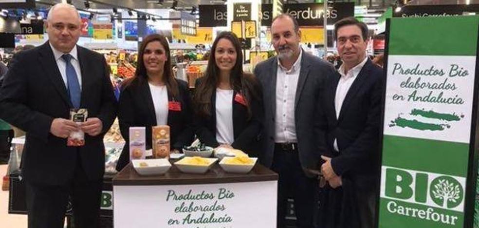 Carrefour promociona alimentos ecológicos en la capital y El Ejido