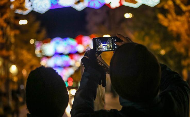 El alumbrado de Navidad de Granada