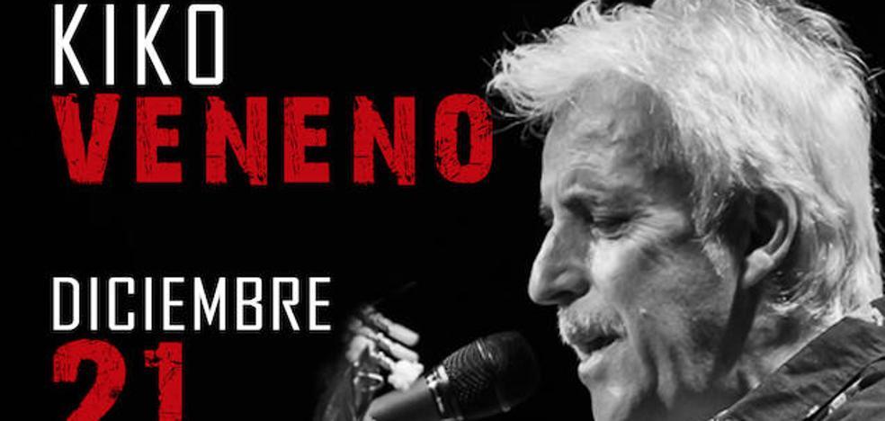 Kiko Veneno presenta el 21 de diciembre en el Centro Lorca su trabajo '+ Solo que la una'