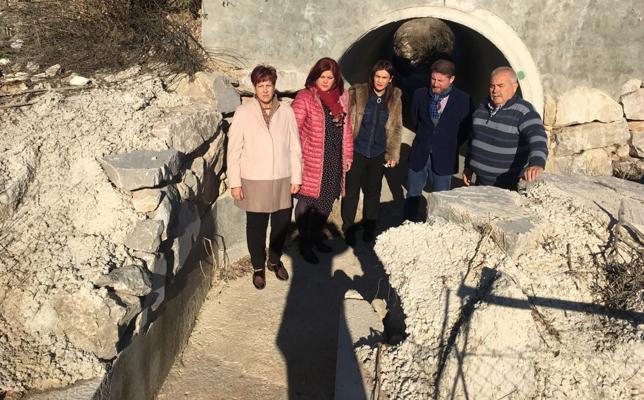 El PSOE urge a la Confederación Hidrográfica el encauzamiento del arroyo Hondo de Tobares