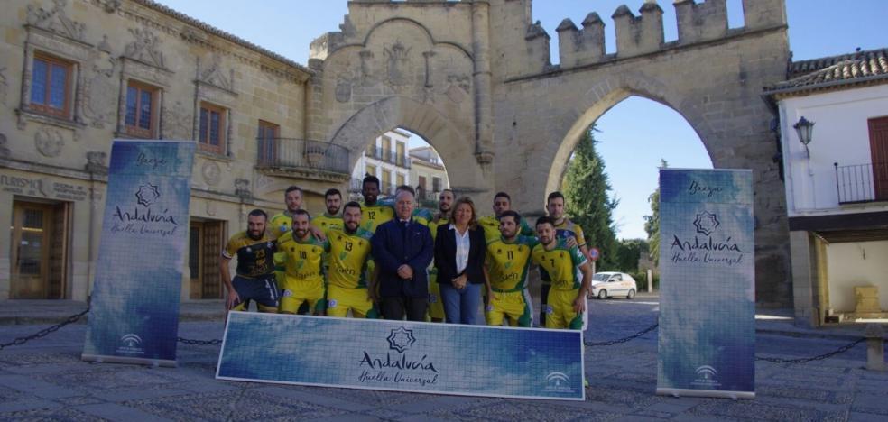 El Jaén FS se suma al proyecto 'Andalucía Huella Universal'
