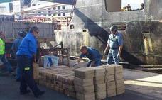 Prisión y multas de hasta 30 millones de euros por un alijo 779 kilos de hachís