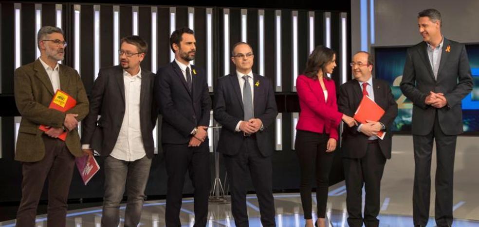 Los presos y el retorno de Puigdemont centran el debate a siete del 21-D