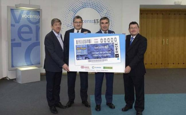 El cupón de la ONCE protagonizado por Vocento reparte 105.000 euros en Valladolid