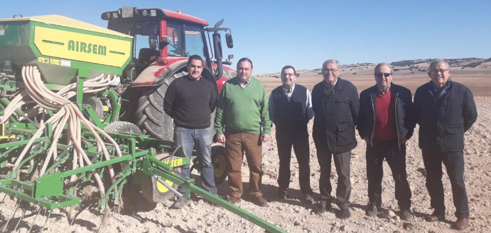 La sequía pone en 'jaque' la futura cosecha de cereal en el interior de la provincia