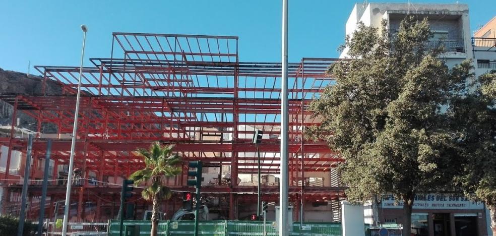 Más retrasos para la Casa del Mar por problemas en la estructura
