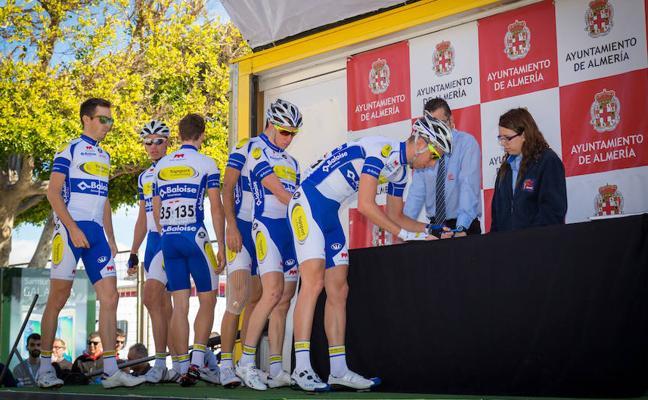La mejor cantera ciclista belga estará en la Clásica de Almería