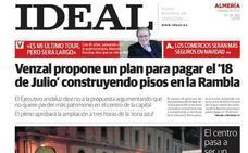 2012: Venzal propone un plan para pagar el '18 de Julio' construyendo pisos en la Rambla